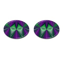 Abstract Cufflinks (oval)