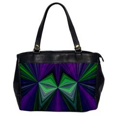 Abstract Oversize Office Handbag (One Side)