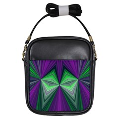 Abstract Girl s Sling Bag
