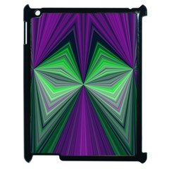 Abstract Apple iPad 2 Case (Black)