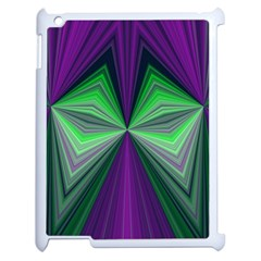 Abstract Apple iPad 2 Case (White)