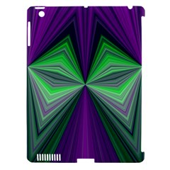 Abstract Apple iPad 3/4 Hardshell Case (Compatible with Smart Cover)