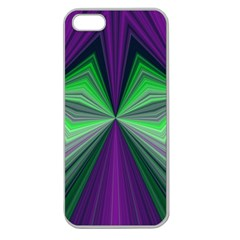 Abstract Apple Seamless iPhone 5 Case (Clear)