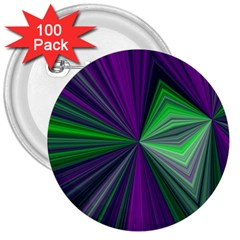 Abstract 3  Button (100 pack)