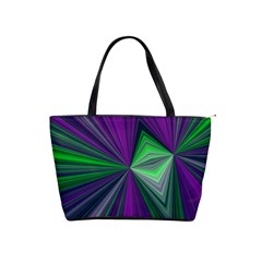 Abstract Large Shoulder Bag