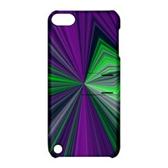 Abstract Apple Ipod Touch 5 Hardshell Case With Stand