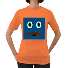 Unknown Character Guy Womens' T-shirt (Colored)