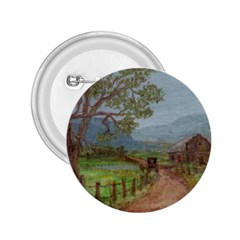 Amish Buggy Going Home  by Ave Hurley of ArtRevu ~ 2.25  Button