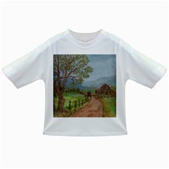 Amish Buggy Going Home  by Ave Hurley of ArtRevu ~ Infant/Toddler T-Shirt