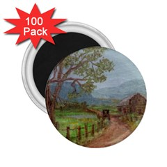 Amish Buggy Going Home  by Ave Hurley of ArtRevu ~ 2.25  Magnet (100 pack)