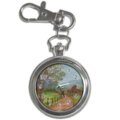 Amish Buggy Going Home  by Ave Hurley of ArtRevu ~ Key Chain Watch