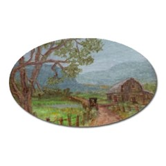 Amish Buggy Going Home  by Ave Hurley of ArtRevu ~ Magnet (Oval)