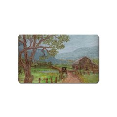Amish Buggy Going Home  by Ave Hurley of ArtRevu ~ Magnet (Name Card)