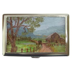amish Buggy Going Home  By Ave Hurley Of Artrevu   Cigarette Money Case