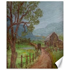Amish Buggy Going Home  by Ave Hurley of ArtRevu ~ Canvas 8  x 10