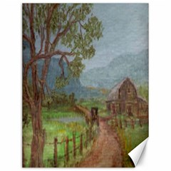 amish Buggy Going Home  By Ave Hurley Of Artrevu   Canvas 12  X 16