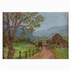 Amish Buggy Going Home  by Ave Hurley of ArtRevu ~ Large Glasses Cloth (2 Sides)