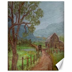 Amish Buggy Going Home  by Ave Hurley of ArtRevu ~ Canvas 11  x 14