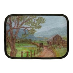 Amish Buggy Going Home  by Ave Hurley of ArtRevu ~ Netbook Case (Medium)