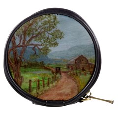 amish Buggy Going Home  By Ave Hurley Of Artrevu   Mini Makeup Bag