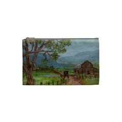 Amish Buggy Going Home  by Ave Hurley of ArtRevu ~ Cosmetic Bag (Small)