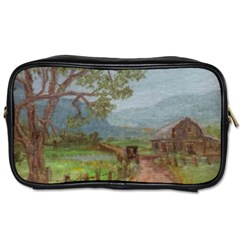 amish Buggy Going Home  By Ave Hurley Of Artrevu   Toiletries Bag (one Side)