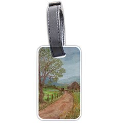 Amish Buggy Going Home  by Ave Hurley of ArtRevu ~ Luggage Tag (one side)