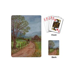 Amish Buggy Going Home  by Ave Hurley of ArtRevu ~ Playing Cards (Mini)