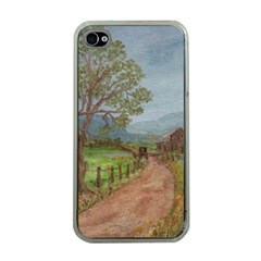 Amish Buggy Going Home  by Ave Hurley of ArtRevu ~ Apple iPhone 4 Case (Clear)