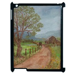 Amish Buggy Going Home  by Ave Hurley of ArtRevu ~ Apple iPad 2 Case (Black)