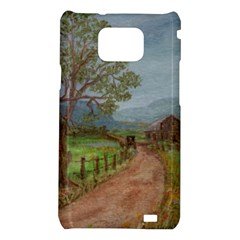 Amish Buggy Going Home  by Ave Hurley of ArtRevu ~ Samsung Galaxy S2 i9100 Hardshell Case