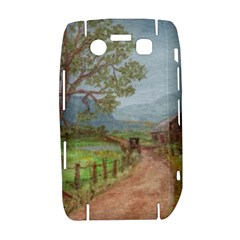 Amish Buggy Going Home  by Ave Hurley of ArtRevu ~ BlackBerry Bold 9700 Hardshell Case