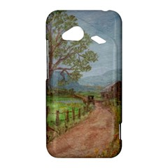 Amish Buggy Going Home  by Ave Hurley of ArtRevu ~ HTC Droid Incredible 4G LTE Hardshell Case
