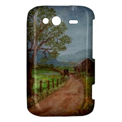 Amish Buggy Going Home  by Ave Hurley of ArtRevu ~ HTC Wildfire S A510e Hardshell Case