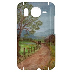 Amish Buggy Going Home  by Ave Hurley of ArtRevu ~ HTC Desire HD Hardshell Case