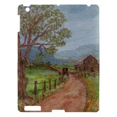 Amish Buggy Going Home  by Ave Hurley of ArtRevu ~ Apple iPad 3/4 Hardshell Case
