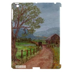 Amish Buggy Going Home  by Ave Hurley of ArtRevu ~ Apple iPad 3/4 Hardshell Case (Compatible with Smart Cover)