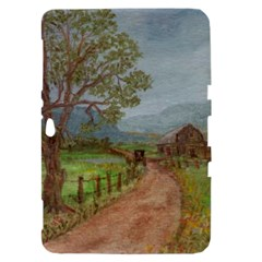 Amish Buggy Going Home  by Ave Hurley of ArtRevu ~ Samsung Galaxy Tab 8.9  P7300 Hardshell Case