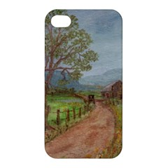 Amish Buggy Going Home  by Ave Hurley of ArtRevu ~ Apple iPhone 4/4S Premium Hardshell Case