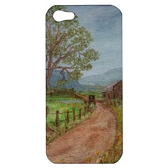 Amish Buggy Going Home  by Ave Hurley of ArtRevu ~ Apple iPhone 5 Hardshell Case