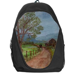 Amish Buggy Going Home  by Ave Hurley of ArtRevu ~ Backpack Bag