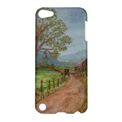 Amish Buggy Going Home  by Ave Hurley of ArtRevu ~ Apple iPod Touch 5 Hardshell Case