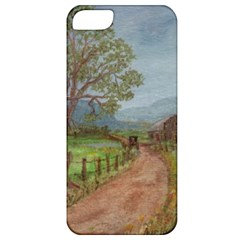 Amish Buggy Going Home  by Ave Hurley of ArtRevu ~ Apple iPhone 5 Classic Hardshell Case