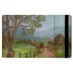 Amish Buggy Going Home  by Ave Hurley of ArtRevu ~ Apple iPad 2 Flip Case