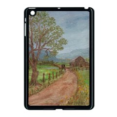 Amish Buggy Going Home  by Ave Hurley of ArtRevu ~ Apple iPad Mini Case (Black)