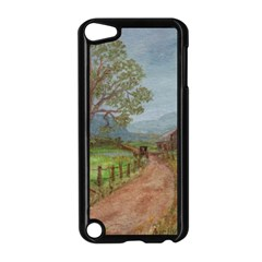 Amish Buggy Going Home  by Ave Hurley of ArtRevu ~ Apple iPod Touch 5 Case (Black)
