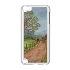 Amish Buggy Going Home  by Ave Hurley of ArtRevu ~ Apple iPod Touch 5 Case (White)
