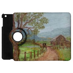 Amish Buggy Going Home  by Ave Hurley of ArtRevu ~ Apple iPad Mini Flip 360 Case