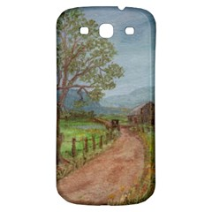 Amish Buggy Going Home  by Ave Hurley of ArtRevu ~ Samsung Galaxy S3 S III Classic Hardshell Back Case