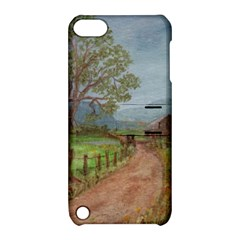 Amish Buggy Going Home  by Ave Hurley of ArtRevu ~ Apple iPod Touch 5 Hardshell Case with Stand